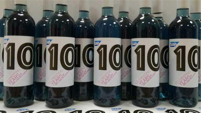 етикети за вино SAP