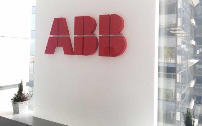 Обемни букви плексиглас ABB