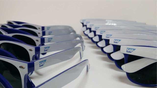 рекламни слънчеви очила SAP